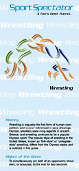 SportSpectator guide to wrestling